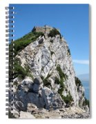 Gibraltar's Moorish Castle Spiral Notebook