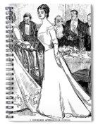 Gibson: After-dinner, 1899 Spiral Notebook