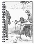 Gibson: Businessman, 1903 Spiral Notebook