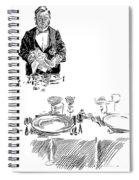 Gibson: Butler, 1900 Spiral Notebook