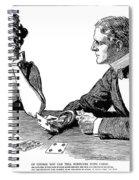 Cards, 1900 Spiral Notebook
