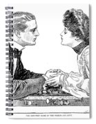 Chess Game, 1903 Spiral Notebook
