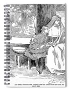Gibson: Friends, 1901 Spiral Notebook