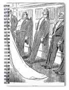 Gibson: Frozen, 1902 Spiral Notebook