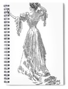 Gibson: Gibson Girl, 1903 Spiral Notebook