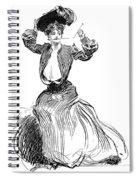 Gibson: Gibson Girl, 1904 Spiral Notebook