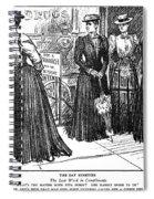Gibson Girl, 1890s Spiral Notebook