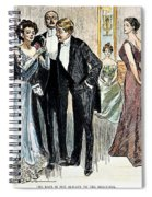 Gibson Girl, 1900 Spiral Notebook