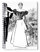 In Garden Of Youth Spiral Notebook