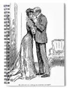 Kiss, 1903 Spiral Notebook