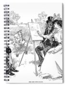 Gibson: Painting, 1901 Spiral Notebook