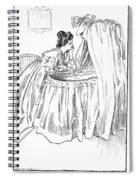 Gibson: The Mother, 1899 Spiral Notebook