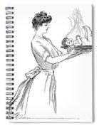 Gibson: Woman, 1903 Spiral Notebook