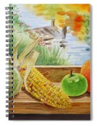 Gifts From Fall Spiral Notebook