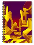 Gilded City  Spiral Notebook
