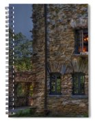 Gillette Castle Exterior Hdr Spiral Notebook