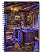 Gillette Castle Office Hdr Spiral Notebook