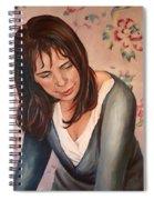 Gillian Spiral Notebook
