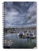 Gipsy Moth Iv At Milford Haven Marina Spiral Notebook