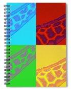 Giraffe Pop Art Spiral Notebook