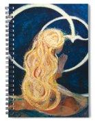 Girl Praying Spiral Notebook
