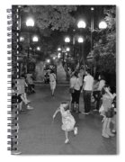 Girl With Magic Wand Spiral Notebook