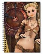 Girlie Spiral Notebook
