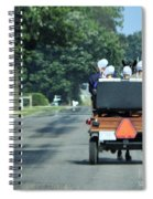 Girls And Chauffeur Spiral Notebook