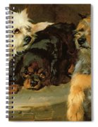 Give A Poor Dog A Bone Spiral Notebook