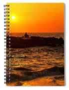 Give Your Cares To God Spiral Notebook