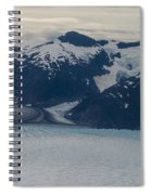 Glacial Panorama Spiral Notebook