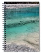Glacial Pool Inn South New Zealand Spiral Notebook
