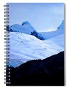 Glacier Cracks Spiral Notebook