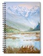 Glacier Spiral Notebook