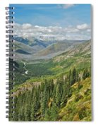 Glacier National Park 9275 Spiral Notebook