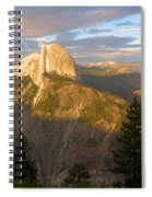 Glacier Point Glow Spiral Notebook