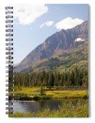 Glacier Ponds Spiral Notebook