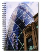 Glass And Stone Spiral Notebook