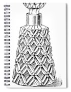 Glass Bottle, 1895 Spiral Notebook