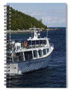 Glass Bottom Boat Spiral Notebook