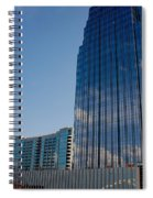 Glass Buildings Nashville Spiral Notebook