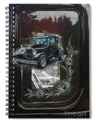 Glass Etching Classic Spiral Notebook