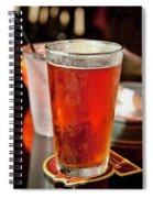 Glass Of Beer Spiral Notebook