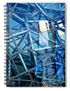 Glasshouse City Spiral Notebook