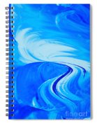 Glassworks In Blue Spiral Notebook