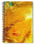 Glassworks Series-gold I Spiral Notebook