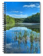 Glassy Waters Spiral Notebook