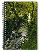 Glenariff, Co Antrim, Ireland Waterfall Spiral Notebook