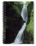 Glenariff Falls, Glens Of Antrim, Co Spiral Notebook
