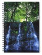 Glenariff Waterfall, Co Antrim, Ireland Spiral Notebook